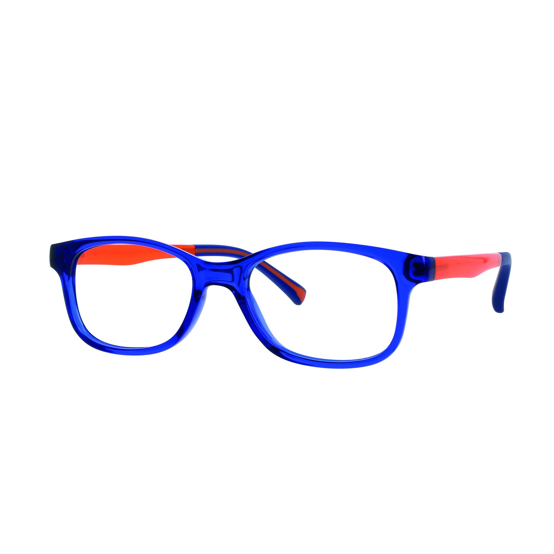 02F012946229000 - Armação Inf Active Colours (4) 46x16 Azul/Laranja Mod F012946229000 - Contém 1 Peça
