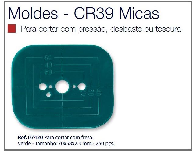 0207420 - Dime Verde Médio Mod 7420 FLAG E - Contém 250 Peças SOB ENCOMENDA