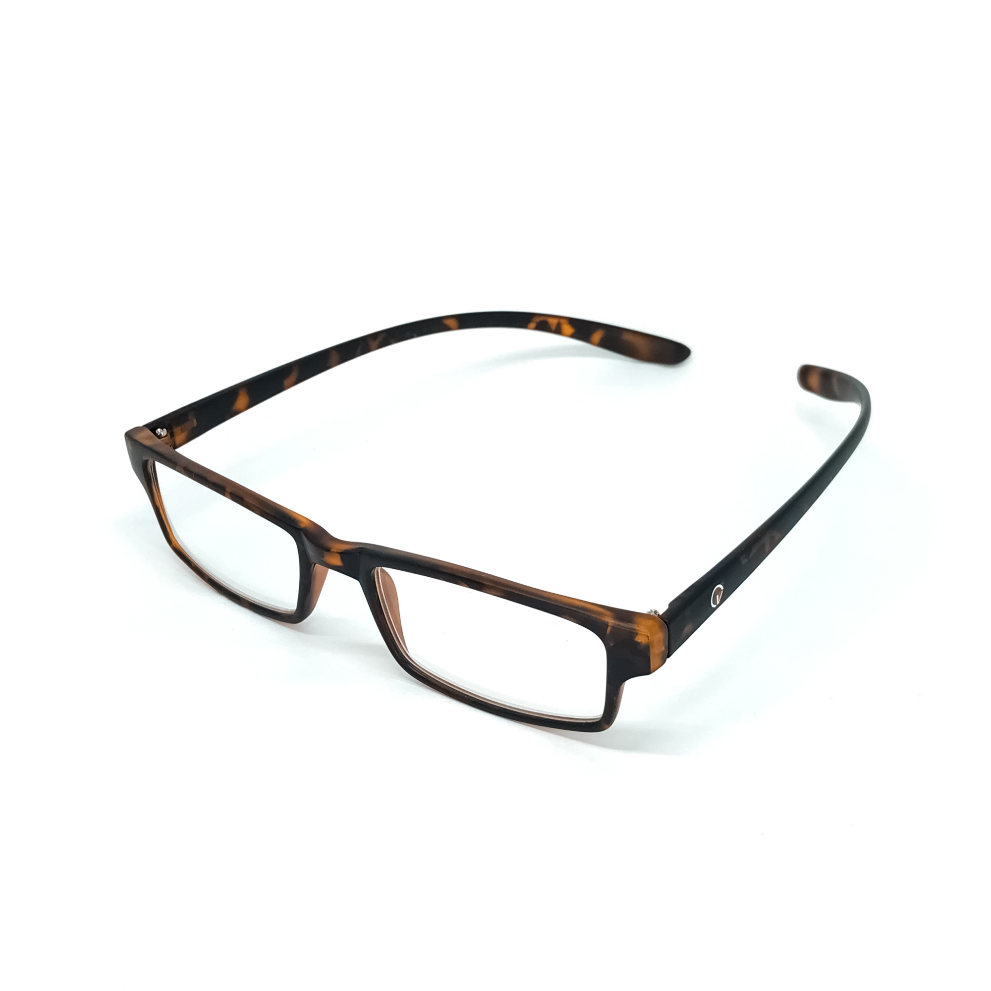 0869024-Óculos Leitura Retangular Demi +2,50 - Contém 1 Peça  - ENTREGA IMEDIATA