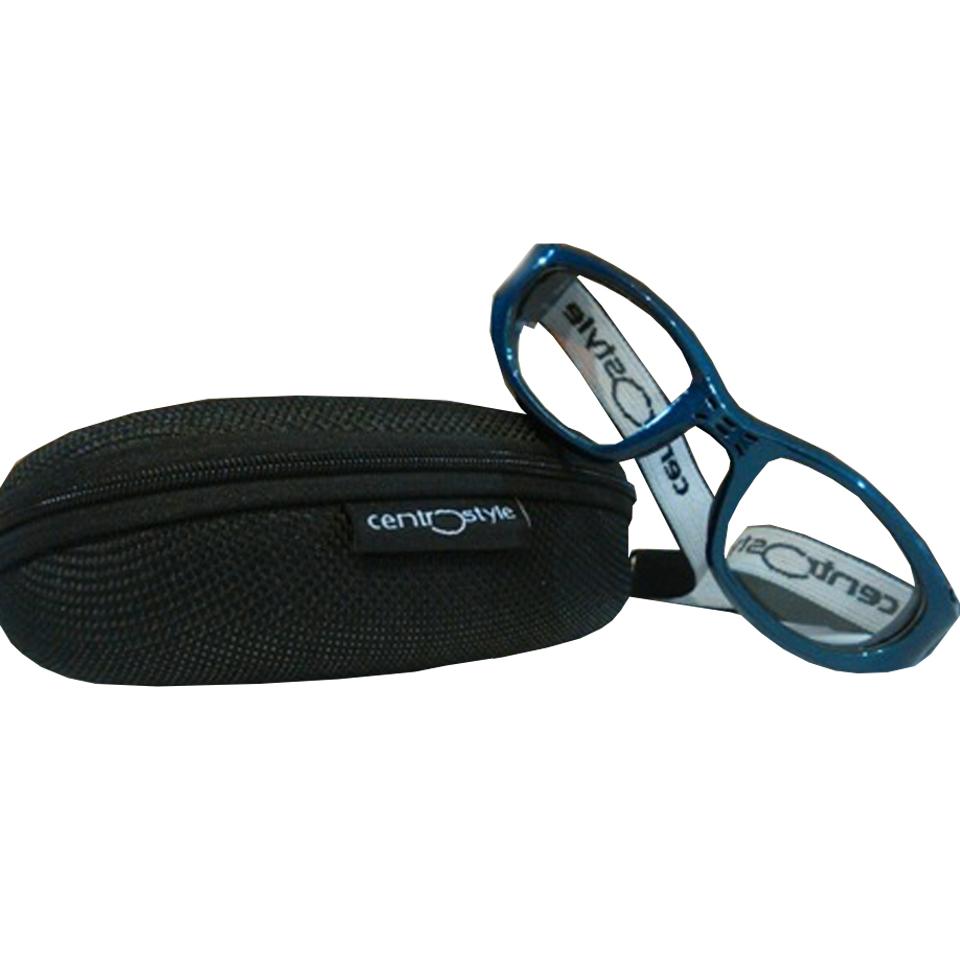 0213402 - Óculos Esporte Banda Elástica 47-20 Azul/Azul Mod 13402 - Contém 1 Peça
